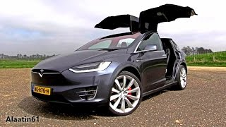 2017 Tesla Model X P100D Ludicrous Test Drive, In Depth Review Interior Exterior 2018
