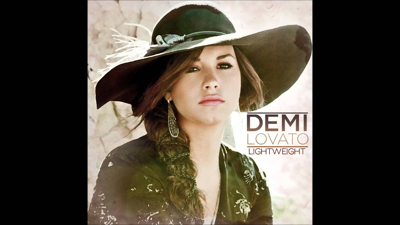 Demi Lovato Lightweight Karaoke Instrumental Backing Vocals Lyrics Youtube