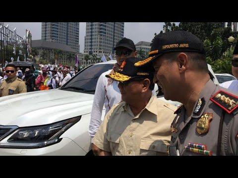 Soal Cawapres, Prabowo Subianto Sebut Nama Presiden PKS