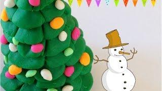 Как лепить Елку. Из пластилина Play-Doh лепим Елку для Нового года.