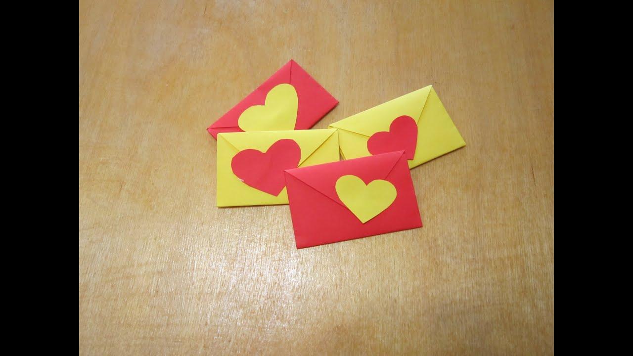 Сделать красивые валентинки своими руками из бумаги