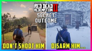 What Happens If You DON'T Kill The Famous Gunslingers In Red Dead Redemption 2? (SECRET Outcome)