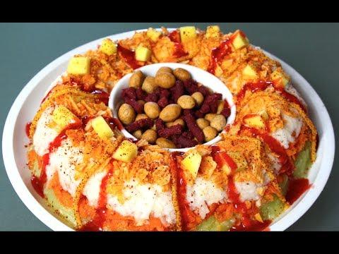 ROSCA DE CHAMOY (verduras y fruta) ♥