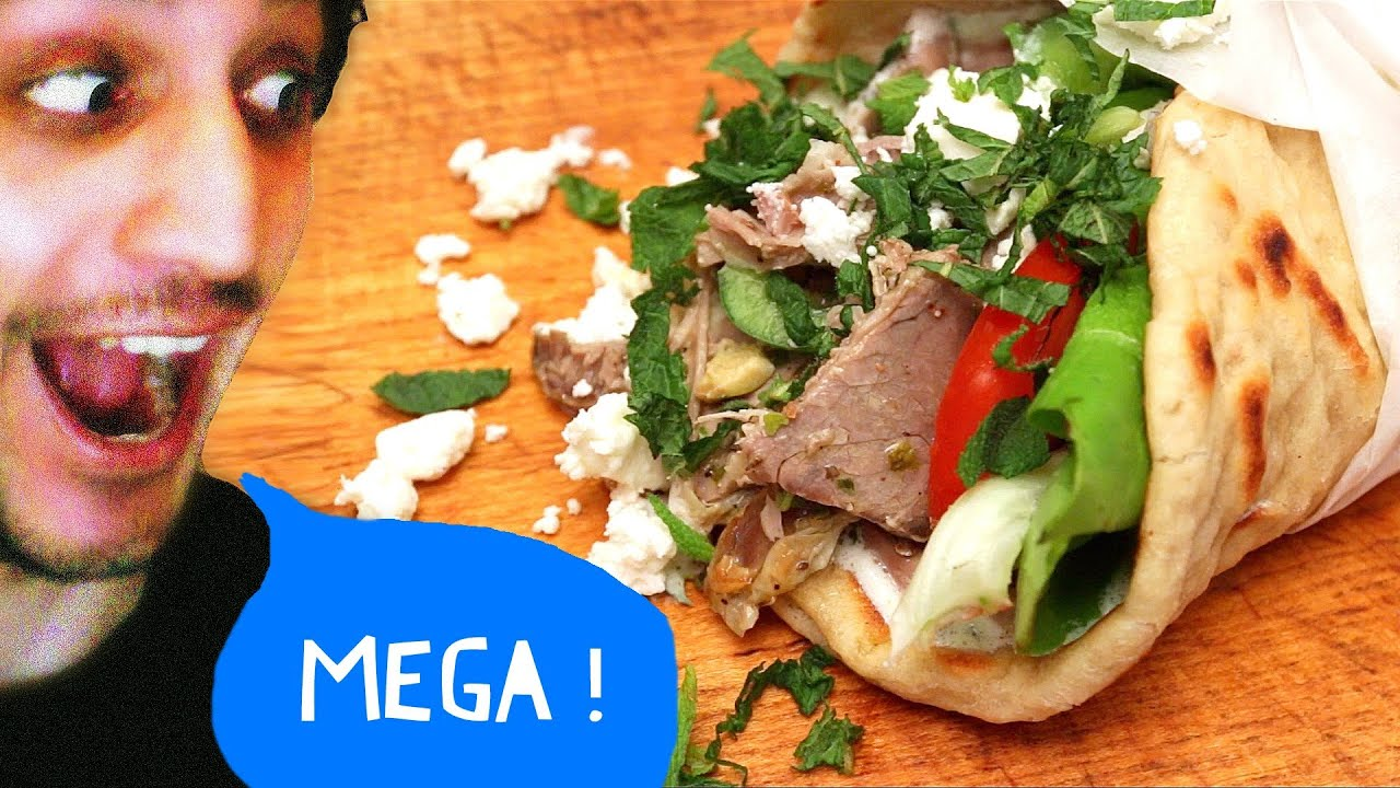 Greek Pita Sandwich Greek Lamb Pita Sandwich With