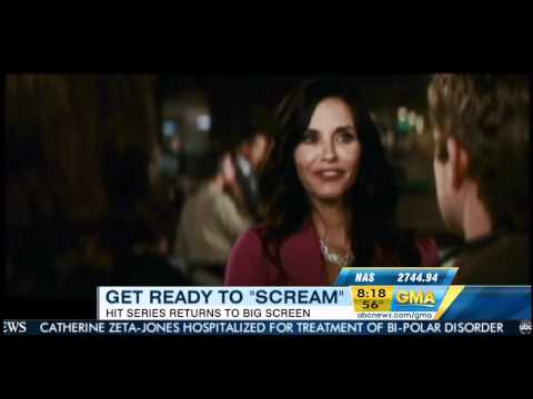 Good Morning America - Courteney Cox (Scream 4)