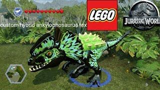 LEGO Jurassic World Ankylophosaurus custom hybrid