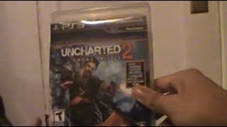 Unboxing (Abriendo) Uncharted 2 GOTY PS3