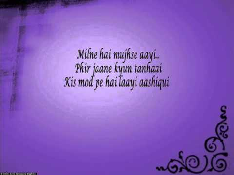 Milne Hai Mujse Aayi Lyrics  Aashiqui 2 video