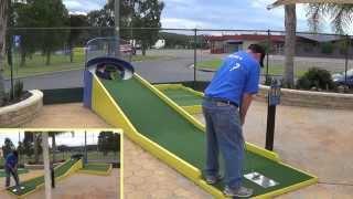 Batemans Bay Mini Golf in the 18 Series.