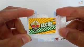 UNBOXING: **WORLD PREMIERE** 5 Chicles La Liga 2014-2015