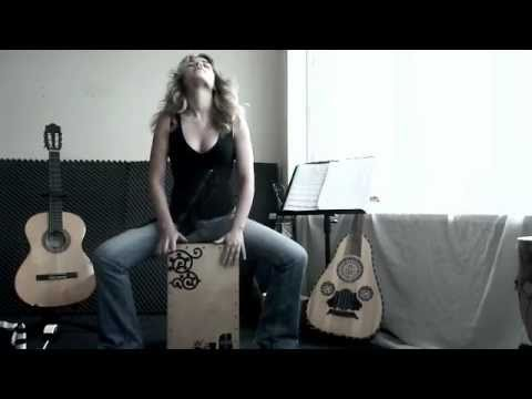Cajon basics lesson 1 - Basic Exercises with Heidi Joubert