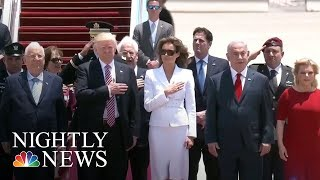 Melania Trump Takes The World Stage | NBC Nightly News