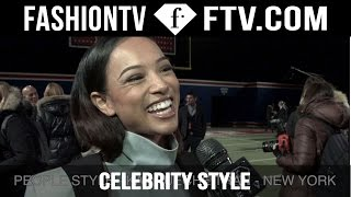 Celebrity Style at NYFW Fall/Winter 2015 ft Mary J Blije  | FashionTV