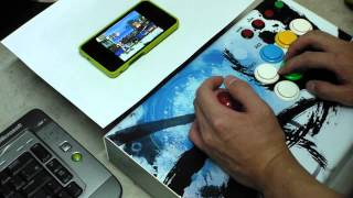 Android NeoGeo Emul Test with Magiclab M3 JoyStick