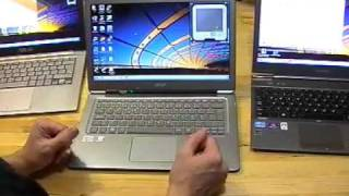 Ultrabook Trio Live Part 4 - Keyboard, Pad, Screen, Wifi Review