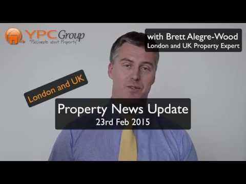 UK Property Investment News - 23rd Feb 2015 - All Good News Ahead!