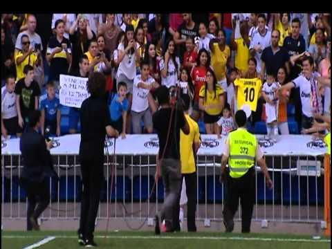 James Rodríguez fue presentado como nuevo