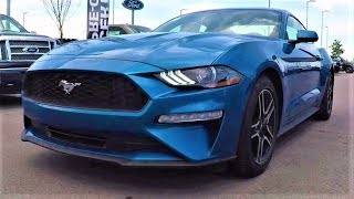 2019 Ford Mustang EcoBoost: The Turbocharged Pony Car!