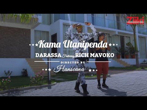 Darassa ft Rich Mavoko  - Kama Utanipenda ( Official Music Video )