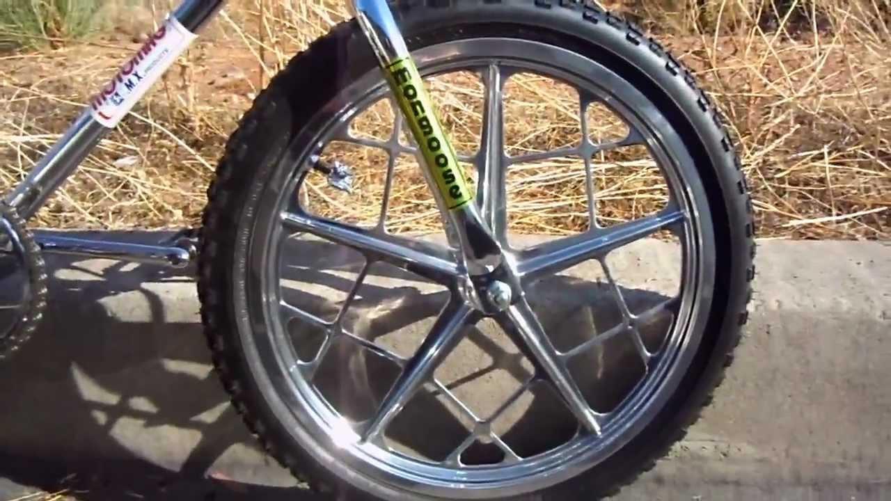 1977 Mongoose Motomag Bmx Bike Youtube