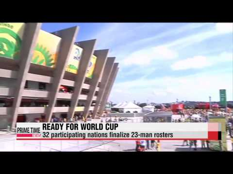 World Cup: Team rosters finalized on deadline day