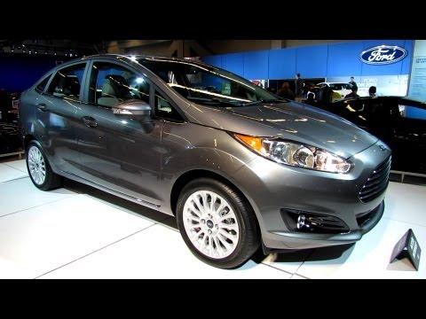 2014 Ford Fiesta Titanium Sedan - Exterior Walkaround - 2013 Montreal Auto Show