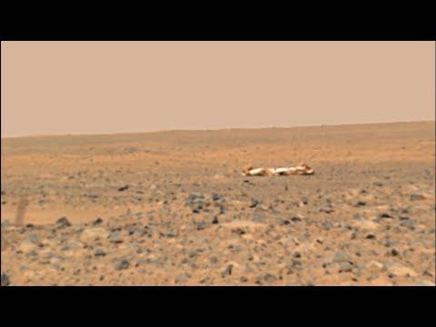 Видео с Марса - марсоход Spirit