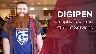 DigiPen Campus Tour and Student Services | DigiPen Institute of Technology