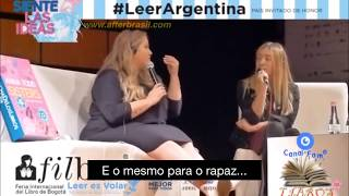 Entrevista: Anna Todd fala sobre After Movie na FILBO 2018 • AFTER BRASIL [Legendado]