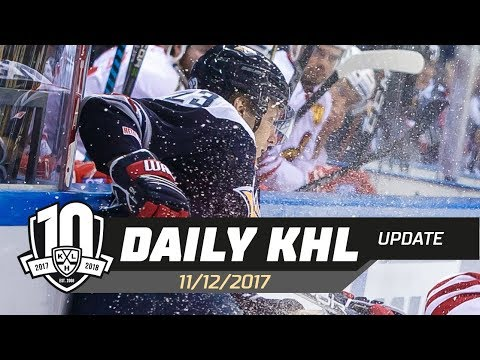 Daily KHL Update - December 11th, 2017 (English)