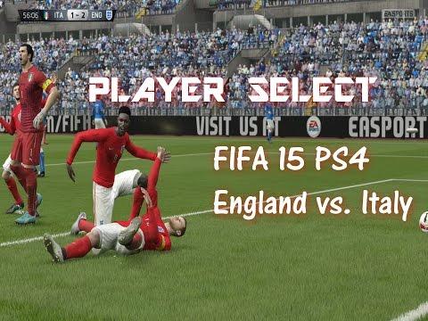 Fifa 15 Gameplay - England vs. Italy - PS4 1080p / Fifa Best Goals
