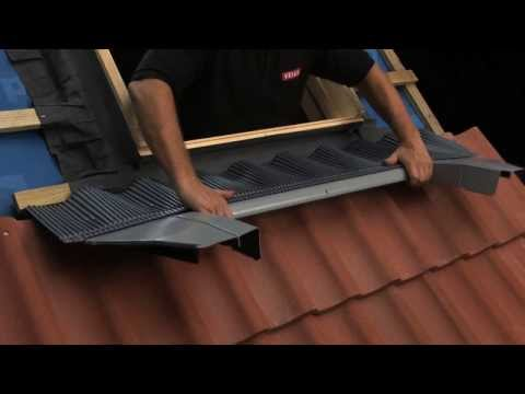 VELUX New Generation Roof Window Standard Installation Into Tile