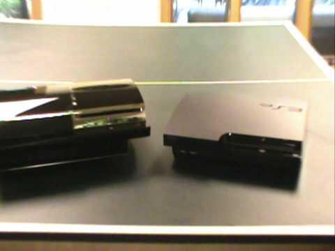 PS3 Slim vs. PS3 Fat (Comparison/Review)
