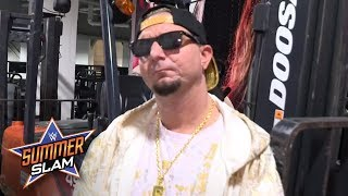 James Ellsworth hints about whether Carmella will cash in at SummerSlam: Exclusive, Aug. 20, 2017