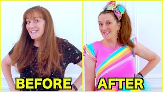 GIVING MY MOM A JOJO SIWA MAKEOVER!