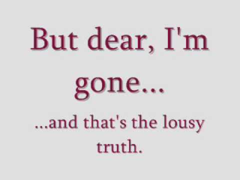 The Lousy Truth - Never Shout Never - LYRICS