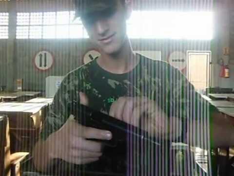 SD LUAN desmontando e montando pistola IMBEL 9 MM