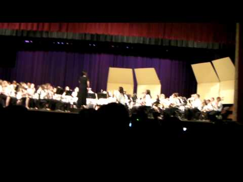 2013 East Islip Middle School Spring Band Concert - Part 2