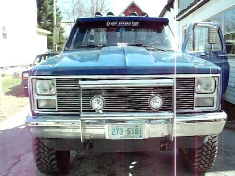 1987 chevy GMC stepside lifted Video