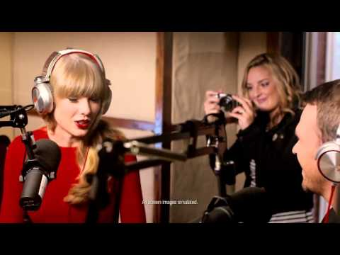 Taylor Swifts New Sony Commercial
