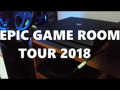 Epic Game Room Tour 2018