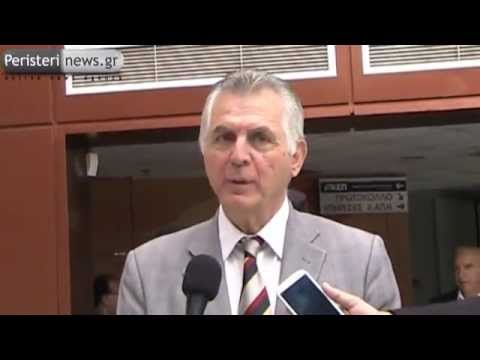 Dilwseis Dimarxou Peristeriou Meta Thn Parelash 28-10-12 video
