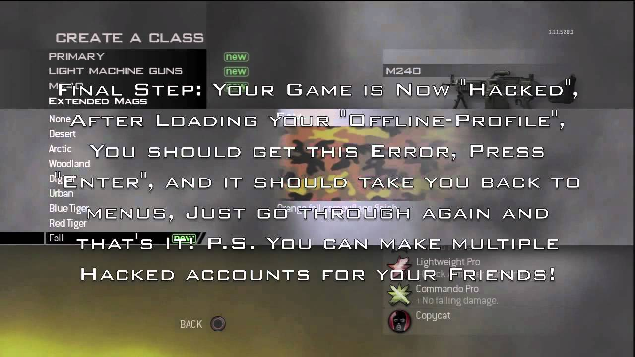 Mw3 hack aimbot wallhack free download ps3