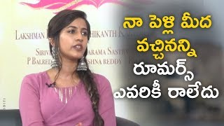 Actress Niharika Making Hilarious Fun About Marriage Gossips On Her