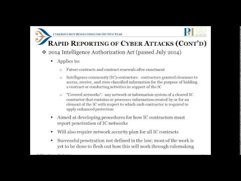 Cybersecurity Resolutions for the New Year
