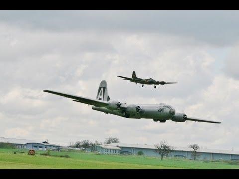 WW II BOMBERS - B17   B29  B29 B17