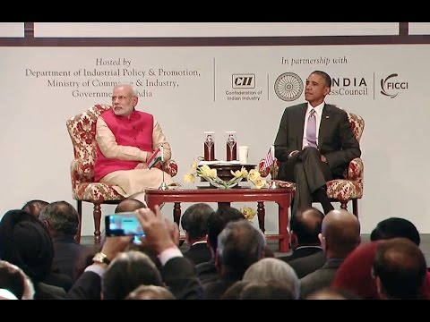 President Obama Speaks at the U.S.-India Business Council Summit