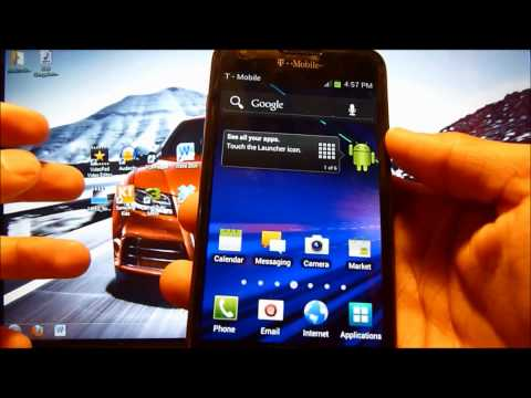 How To Flash / Use Dark Side SuperWipe! For Android / Samsung Galaxy S2 T989!