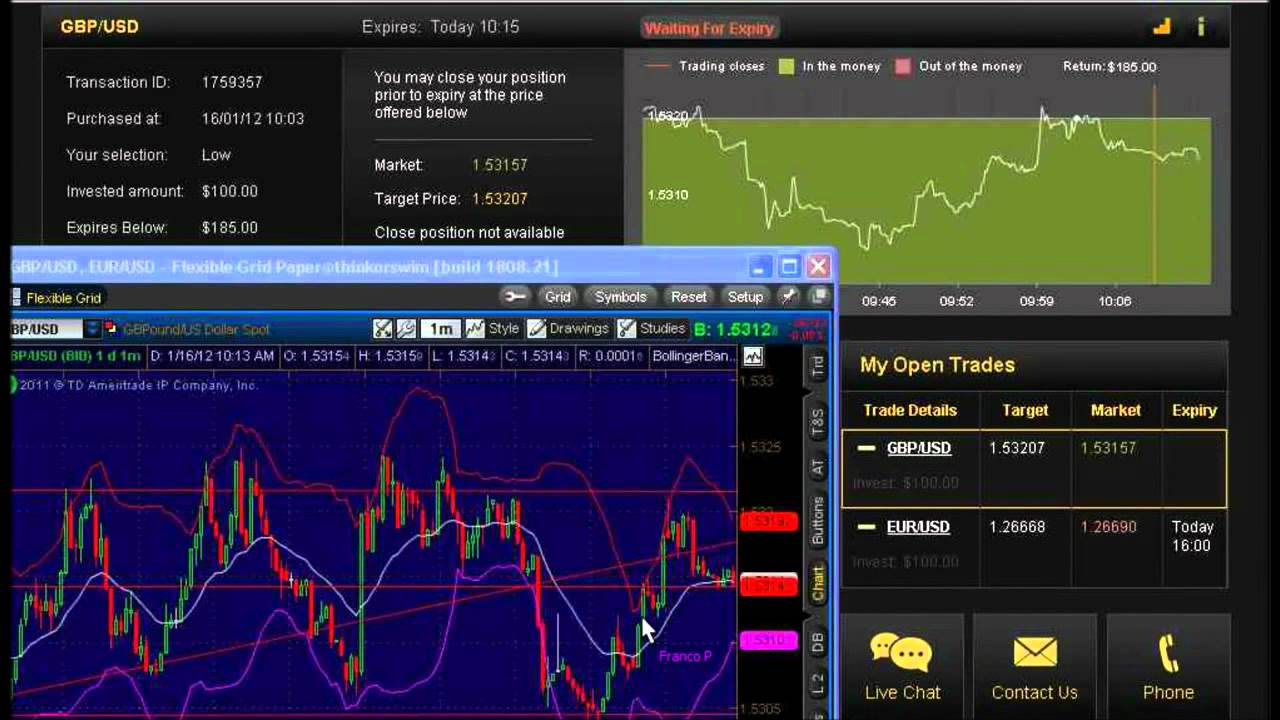Free binary trading simulator mac