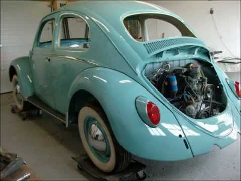 Classic VW Beetle Bug Restoration 1963, By Last Chance Auto Restore.com